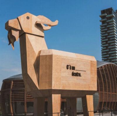 Campagna birra Kozel 2021: dal teasing sui social all'ambient marketing di piazza Gae Aulenti