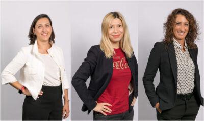 Nasce l'Europe Operating Unit di Coca-Cola: nuovi ruoli perCristina Camilli, Raluca Vlad e Giuliana Mantovano