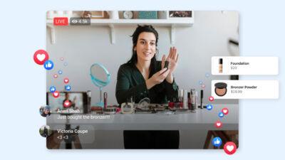 Con i Facebook Live Shopping Fridays si potrà acquistare sull'app durante le dirette delle pagine aziendali