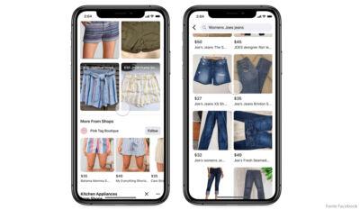 Facebook Shops arriva su WhatsApp e Marketplace