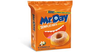 Mr.Day si rifà il look e presenta la nuova gamma di Muffin e Ciambelle