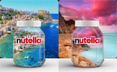 """Nutella presenta i vasetti dell'edizione limitata """"Ti amo Italia"""" 2021, selezionati dai consumatori"""