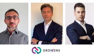 Nuovo team Growens 2021: entrano in azienda Tarquini, Colazzo, Pelleri
