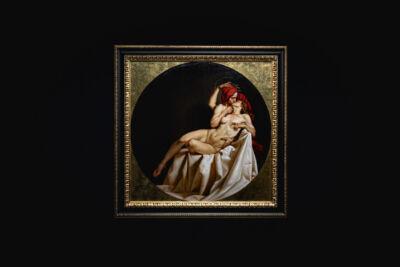 """""""Il Bacio di Dante e Beatrice"""": l'opera commissionata da Magnum nell'ambito della campagna MagnumXDante"""
