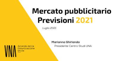 La ripresa degli investimenti media per il 2021: ecco il report elaborato dal Centro Studi UNA