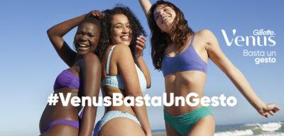 Gillette Venus Italia lancia la prima campagna su TikTok per parlare di inclusione e body positivity