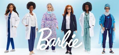 Mattel omaggia infermiere, ricercatrici e dottoresse in prima linea nella lotta al COVID-19 con Barbie in edizione speciale