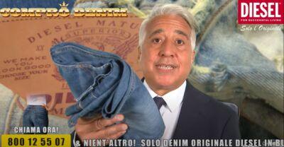 """""""Compro Denim"""" è la campagna di Diesel che invita a riportare in negozio vecchi jeans"""