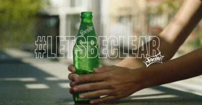 #LetsBeClear: la nuova campagna Sprite che promuove la diversità