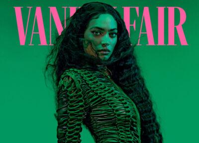 Vanity Fair lancia la prima copertina realizzata in NFT, con Elodie come protagonista