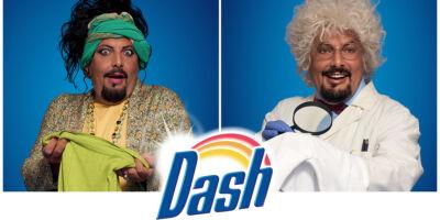 P&G lancia la nuova campagna Dash PODs con Enrico Brignano