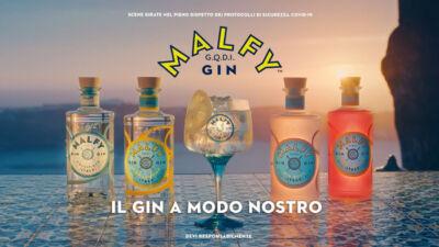 Malfy Gin lancia la nuova campagna ed esordisce in TV con uno spot ambientato in Costiera Amalfitana