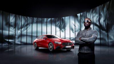 Will.i.am, brand ambassador di Mercedes-AMG, lancia un video musicale che ha come protagonista il nuovo modello ibrido