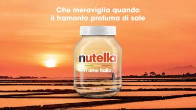 """Nutella annuncia la nuova edizione della campagna """"Ti amo Italia"""" 2021: nuovi luoghi celebrano la bellezza del Paese"""