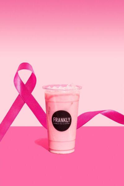 Con una bevanda rosa Frankly sostiene AIRC nel mese della sensibilizzazione sul tumore al seno