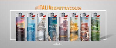 Accendini in edizione limitata e con i più affascinanti scorci del Paese: così BIC celebra l'Italia